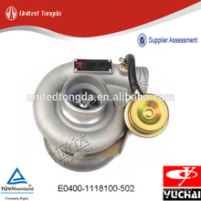 Turbocompressor Genuíno Yuchai para E0400-1118100-502