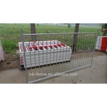Feuerverzinkung 42 Mikrometer Hochwertiger galvanisierter Swimmingpool-Zaun Heißer Verkauf Australien-Markt