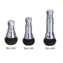 Snap-in Tubeless Tire Valve with Chromed Sleeve