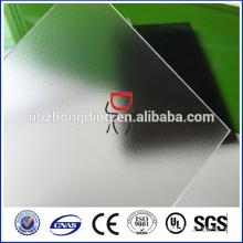 100% Байер 3113 4.5 мм прозрачный матовый PC твердый лист поликарбоната