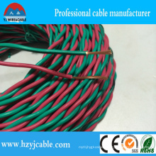 Green and Red PVC Insulation Twisted Pair Rvs Cable