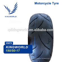 high speed tubeless motorcycle tire 190/55-17