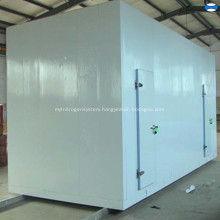 Remote refrigerant unit cold room