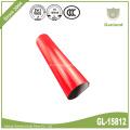 Крышка тележки брезента PVC Водонепроницаемый ролл Красный 900gsm