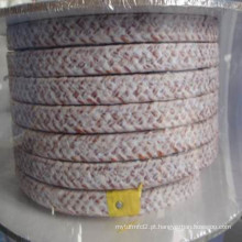 Embalagem de fibra de Kynol com lubrificante especial de PTFE