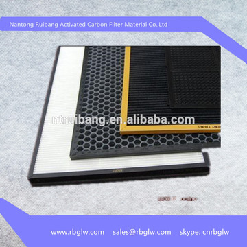 Refill Air Purifier Activated Carbon And Hepa Air Filter Cartridge