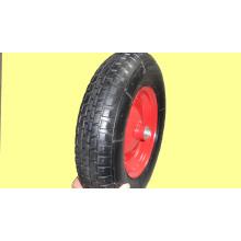 En caoutchouc roues 16 X 400-8, pneumatiques roues costume pour Whee Barrow