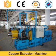 Máquina de extrusão de fio de cobre plana