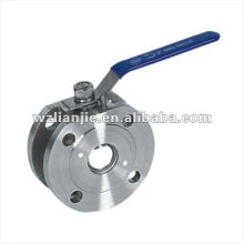 2 Inch Wafer SS Ball Valve Flange Ends 150LB