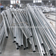 Hot dip galvanised steel tube