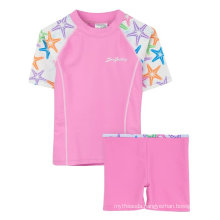 Sunbusters Girls Upf 50+ Sun Protective Fitted Rash Set