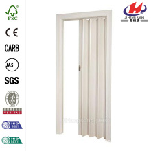 32 in. x 80 in. Fusion White Accordion Door
