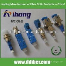 LC hembra SC macho adaptador de fibra MM 62.5 / 125