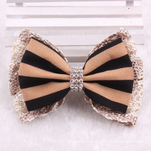 Fabric Bow French Hair Clip