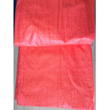 PE red Tarpaulin 45gsm Eyelet for tarpaulin