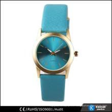 Señoras suaves del reloj de la PU de la venda del reloj de la venda, reloj clásico