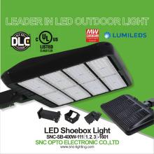 Best prices luminaire landscape lighting 400w LED Shoebox parking lot lights
