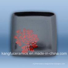 Hand Painted Wholesale Cheap Stonware Dinnerware