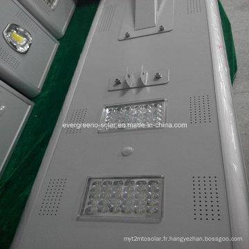 Lampadaire LED solaire intégré tout en un