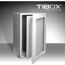 Metall-Gehäuse-Wasserdichte Plexiglas-Tür + Innentür Wandmontage Gehäuse