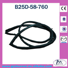 Mazda FML Car Front Door Window Rubber Seal Strips B25D-58-760