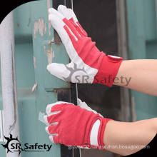 SRSAFETY pig grain driver leather glove