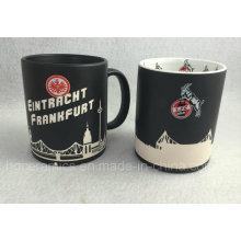 Full Sandblast Ceramic Mug, Full Laser Engraved Mug, Sandblasting Mug
