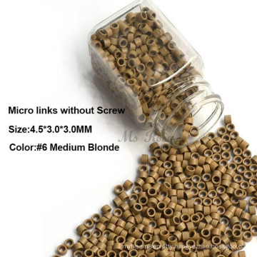 micro beads hair extension tools, silicone micro rings