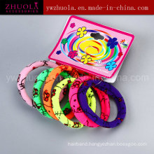 Printed Elastic Hair Ties Wholesale
