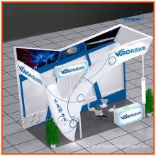 esquema de shell personalizado mais vendido, design de cabine de exposição, fabricação de Xangai