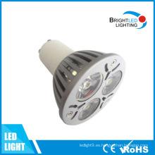 E27 / MR16 / GU10 luz del punto LED 1 * 3W
