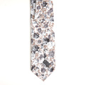 Skinny Floral Cotton Print Baby Boy Neck Tie