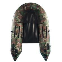 Camouflage haute qualité pêche gonflable bateau bon prix