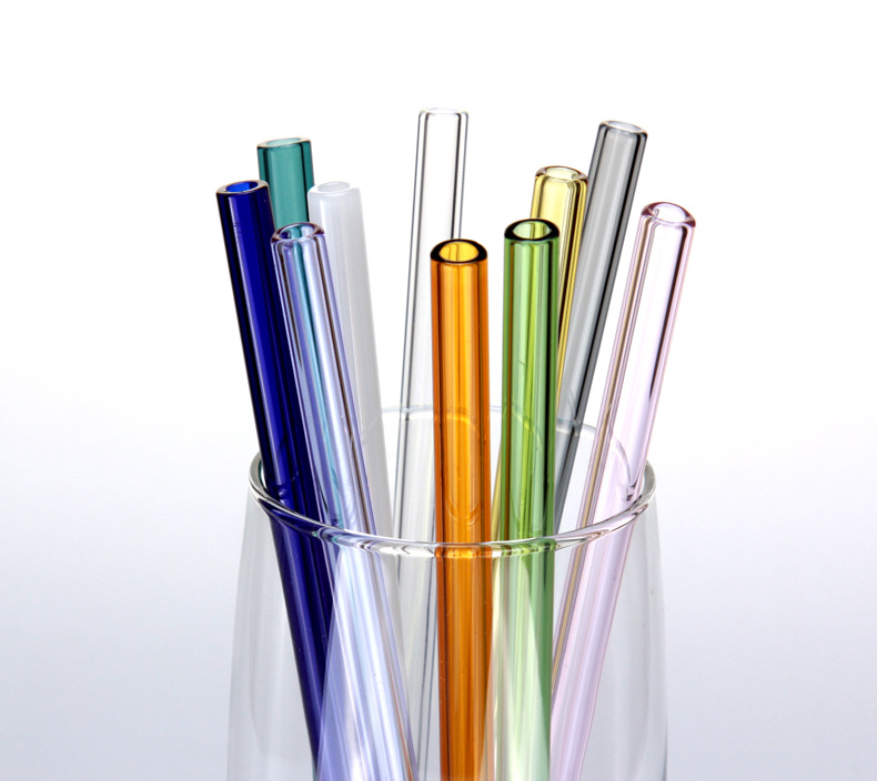 eco-friendly glass straw