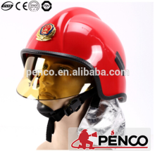 Kevlar with teflon heat resistant helmet fire safety helmets