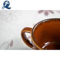 Commerce de gros de mode personnalisé imprimé Mini tasse de thé en céramique résistant à la chaleur