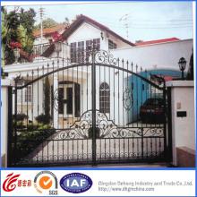 Puerta de hierro forjado elegante elegante de calidad Sperior