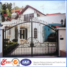 Sperior Quality Elegant Concise Wrought Iron Gate