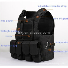 kevlar bulletproof armor molle tactical vest