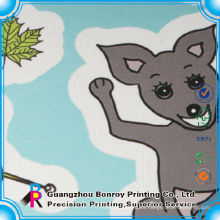 Impresión de libro de etiqueta educativa de alta calidad para niños