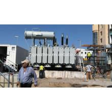 115 кВ / 80000 кВА Открытый трансформаторный трансформатор OLTC в Албании