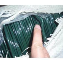 Fil en fer galvanisé revêtu de PVC PVC / revêtu de PVC