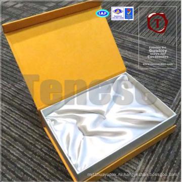 Аксессуары Коробка для хранения / Золотая подарочная коробка / Магнитное закрытие Handmade Rigid Box