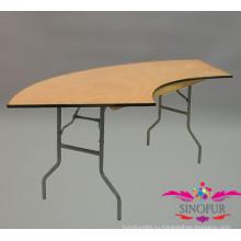 Змеиный банкетный раскладной стол / обеденный стол / гостиничный стол / стол для проведения мероприятий