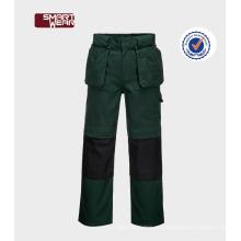 Calças uniformes personalizadas para workwear TC de sarja TC