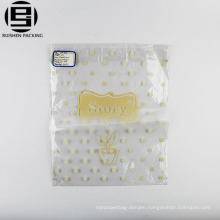 Custom printed bopp plastic food packaging bags