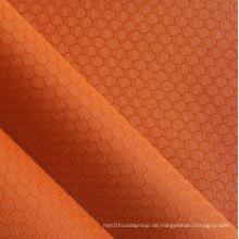 Jacquard Sechskant Polyester Oxford Stoff PVC / PU Polyester Jacquard