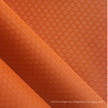 Jacquard Hexagon Polyester Oxford Fabric PVC/PU Polyester Jacquard