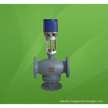 Electric  Three Way (3-way) Mixing Flow Regulating Valve (ZDLQ)