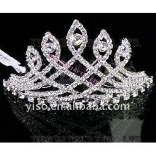 brass wedding tiara